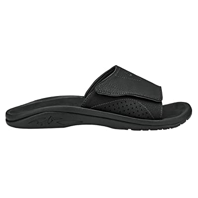 OLUKAI Mens Nalu Slide Slip On Open Toe Sport Sandals | Shoes