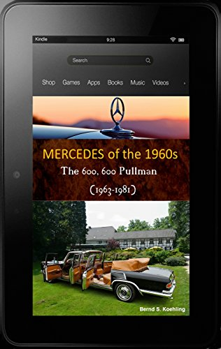 700 Chassis - 600, 600 Pullman, Landaulet W100 with chassis number, data card explanation: From the standard 600 Mercedes-Benz and coach-built models to the Pullman Landaulet with superb recent color photos