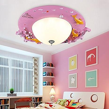 Amazon.com: Children Lamp Cartoon LED Ceiling Lamp Living Room ...
