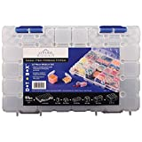 DotBox Medium Set 53 pc from Cottage Mills. 52 storage boxes in a carrying case. It's the ultimate small...