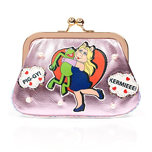 Irregular Choice Disney Muppets Super Couple Miss Piggy Kermit Coin Purse Bag New by Irregular Choice