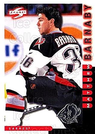 Amazon.com  (CI) Matthew Barnaby Hockey Card 1997-98 Score Buffalo ... 68d3572c9