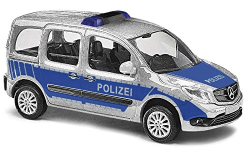 Busch 50658 MB Citan Kombi Police HO Scale Model Vehicle