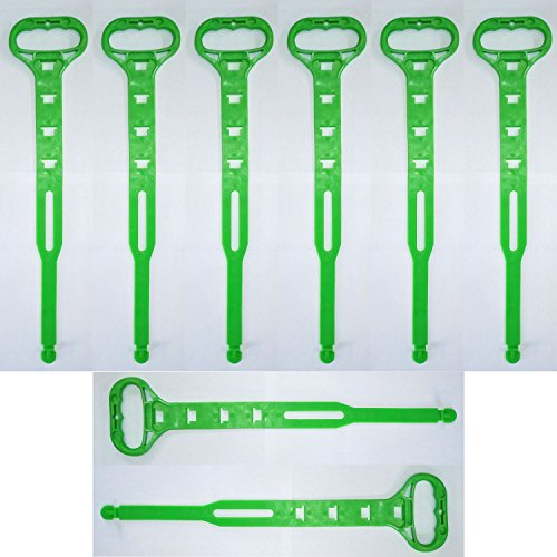 Heavy-Duty Cord Carry Strap Handle & Hanger - Organize Cords, Hoses, Ropes (8 Pack)