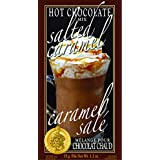 Gourmet du Village Hot Chocolate Mini, Salted Caramel, 35g