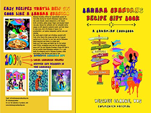 Bahama Grandma's Recipe Gift Book by Desiree Clarke