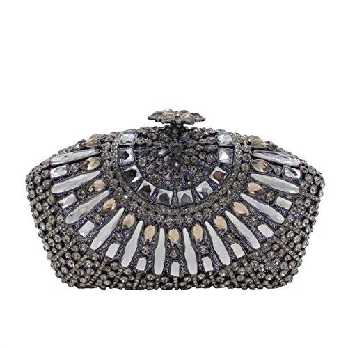 En De Pour à En Soirée De Diamant A Femmes Luxe Sac Main Diamant Sac PRqTwdY