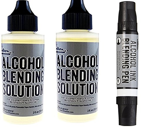 Ranger Adirondack Alcohol Ink Fillable Pen (Blending Pen and Solution)