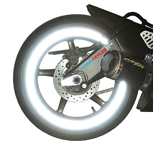 Chrome Motorcycle Rims - 5
