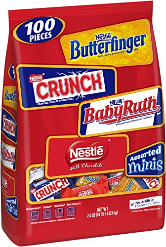 Nestle Chocolate Assorted Minis Bag, 40-Ounce