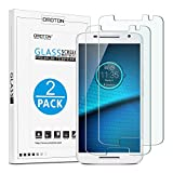 [2-Pack] Moto Motorola Droid Maxx 2 / Moto X Play Tempered Glass Screen Protector, OMOTON for Moto Motorola Droid Maxx 2 / Moto X Play with [9H Hard] [Crystal Clear] [Scratch Resist] [Bubble Free]