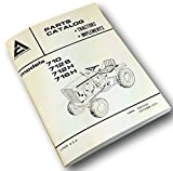 Allis Chalmers 710 712S 712H 716H Parts Catalog Manual List Lawn Garden Tractor