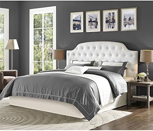 home, kitchen, furniture, bedroom furniture, beds, frames, bases, headboards, footboards,  headboards 7 on sale Dorel Living Lyric Button Tufted Faux Leather King in USA