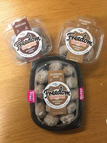 Gluten Free Doughnut Minis (Variety Pack - 3 Count)
