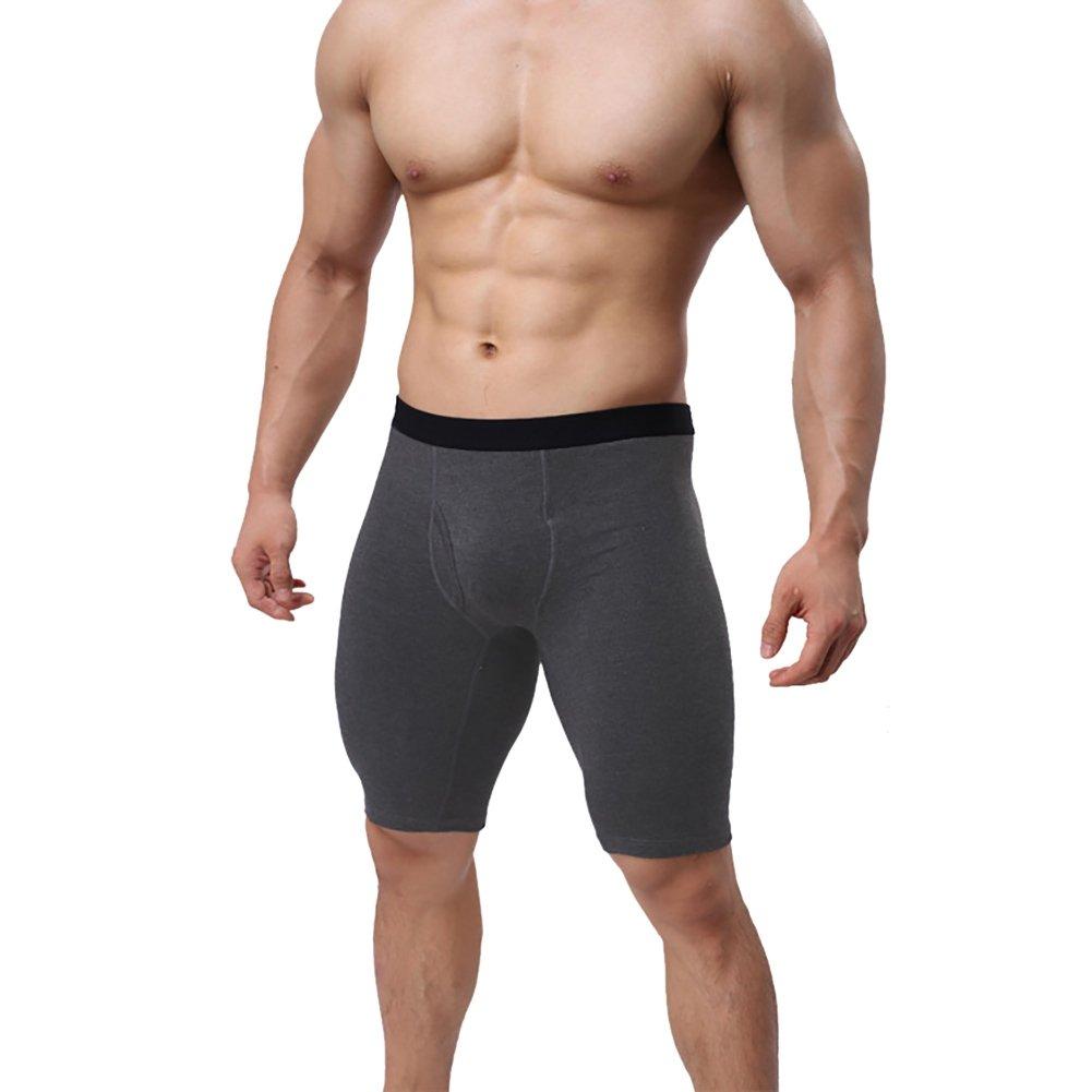 Wongfon Boxer Briefs Viaggio da Uomo Escursionismo Ultra Speedy Dry Sport Biancheria Intima Fitness Pantalone Pantaloni Sportivi Anti-batterico Antiperspirant Slip Cotton