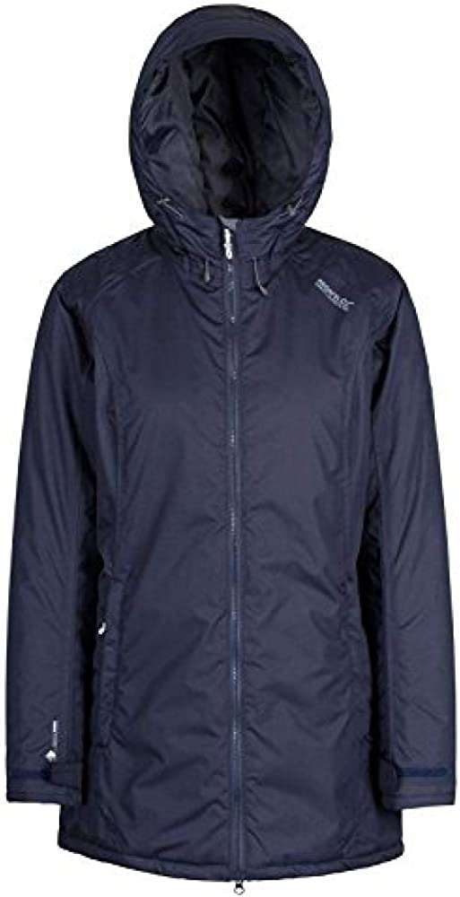Regatta Womens Largo Waterproof and Breathable Insulated Hooded Jacket