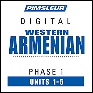Armenian (West) Phase 1, Unit 01-05 Audiobook
