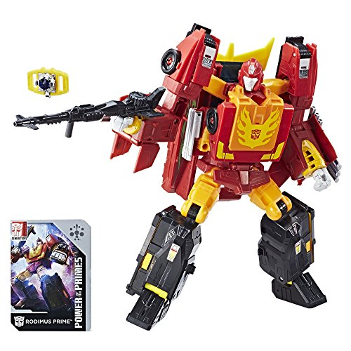 Hot Rod Rodimus Prime (Transformers: Generations Power of the Primes Leader Evolution Rodimus Prime)