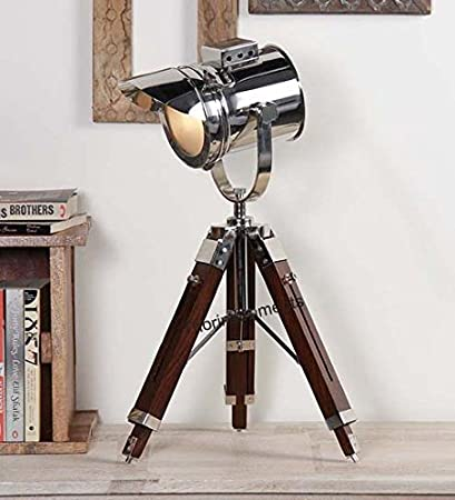 the latest b3e58 364b9 CLASSICAL Vintage Designer's Spotlight With TABLE Lamp Tripod