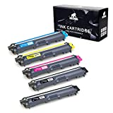 IKONG 5-Pack Compatible Toner Cartridge Replacement for Brother TN221 TN225 Works with Brother MFC-9130CW HL-3170CDW MFC-9330CDW HL-3140CW MFC-9340CDW HL-3180CDW HL-3150CDN Laser Printer
