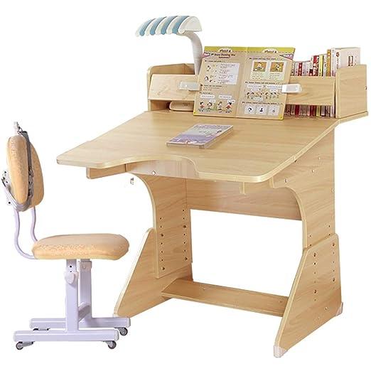Escritorio de estudio para niños Estudio de madera niños de mesa y ...