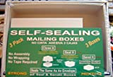 Self-sealing Mailing Boxes 3-pack