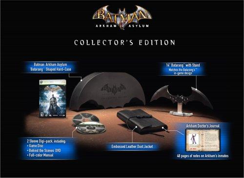 Batman: Arkham Asylum - Collector's Edition, Xbox 360