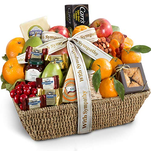 Golden State Fruit with Sympathy California Farmstead Fruit Gift Basket ()