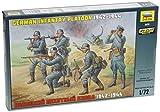 zvezda models - Zvezda Models 1942-1944 German Infantry Platoon Kit