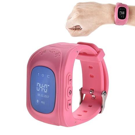 Oshide - Reloj Inteligente GPS para Niños, Reloj de Pulsera para Niños con rastreador GPS