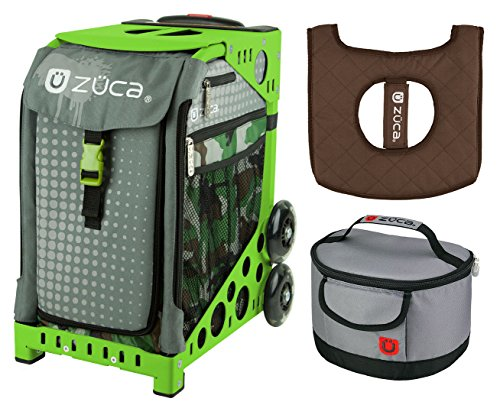 Zuca Sport Bag - Paintball with gift Lunchbox and Seat Cover ()