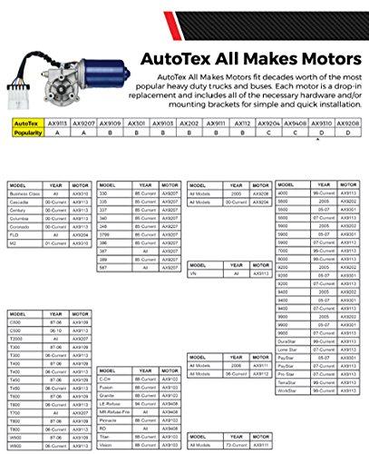 AutoTex AX9310 Wiper Motor