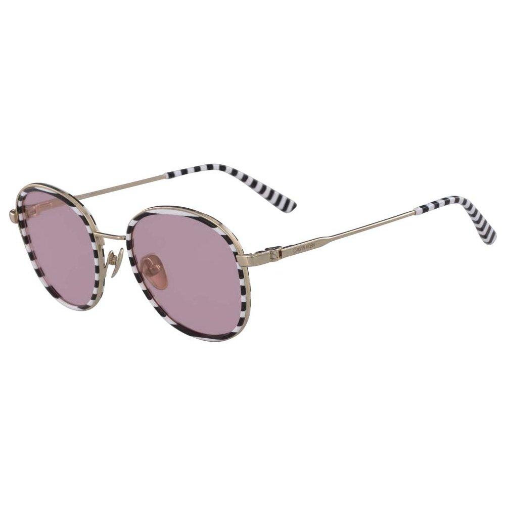 Sunglasses CK 18101 S 199 WHITE//BLACK STRIPES