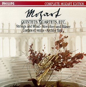 Mozart: Quintets, Quartets, Movements & Fragments for Strings and Wind (Philips Complete Mozart Edition, Volume 10) (Asmf Chamber Ensemble)