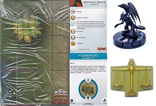 Yu-Gi-Oh! Heroclix Battle of the Millennium Month 4 Complete Op Kit (One Each of the Figure, Map & Object) (River Limited Edition)