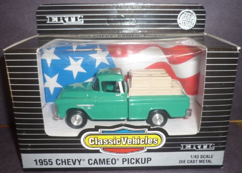 #2154 Ertl Classic Vehicles 1955 Chevy Cameo Pickup 1/43 Scale Diecast by ERTL