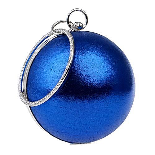 Blue Handbags Clutches Lipstick Bags Key Shoulder Evening Dress Bridal Chain Womens Purse Fqw7xP