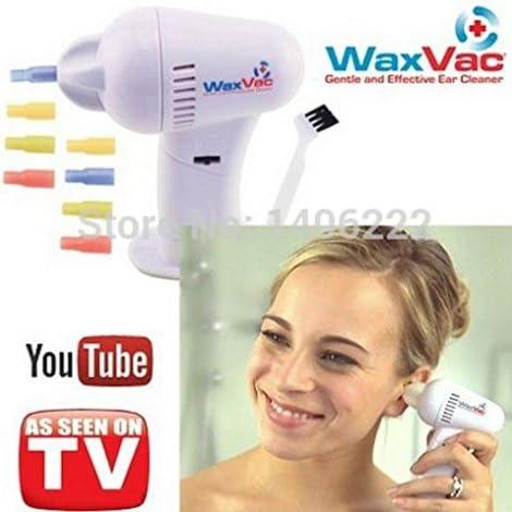 WAX VAC Conocido de la TV: waxvac – La cerumen Aspiradora, 8 x ...