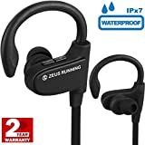 Running Headphones - Sport Headphones - Small Wireless Earbuds for Small Ears with Adjustable Ear Hooks