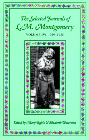 Selected Journals of L.M. Montgomery: Volume IV: 1929-1935 PDF