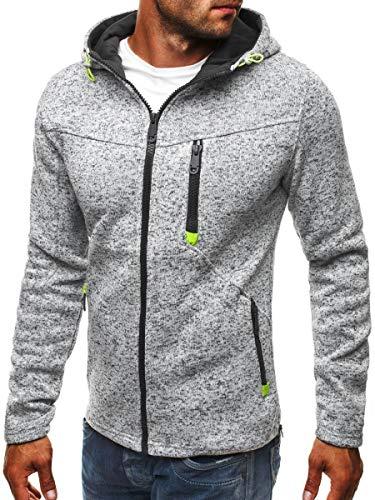 Clearance!Men's Slim Fahsion Hoody Drawsting Pure Zipper Hoodies Sweatshirts Pullover Coat Jacket
