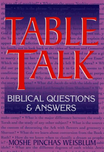 Table Talk: Biblical Questions and Answers pdf epub