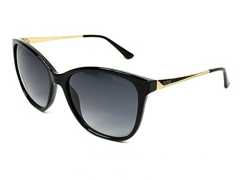 Occhiali da sole Guess GU7502 C57 01A (shiny black / smoke)