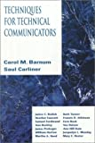 img - for Techniques for Technical Communicators book / textbook / text book