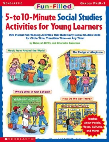 Fun-filled 5-to 10-minute Social Studies Activities For Young Learners pdf
