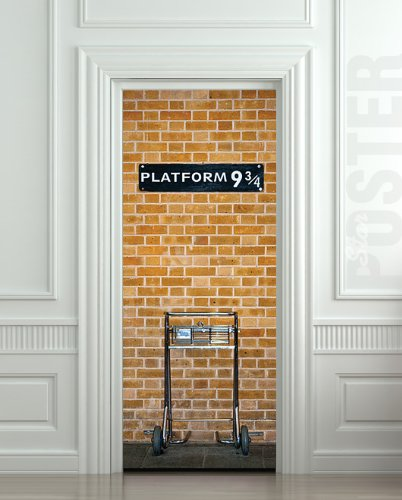 Harry Potter Platform Mural