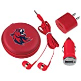 Rogers State 3 in 1 Red Audio Travel Kit 'Official Logo'