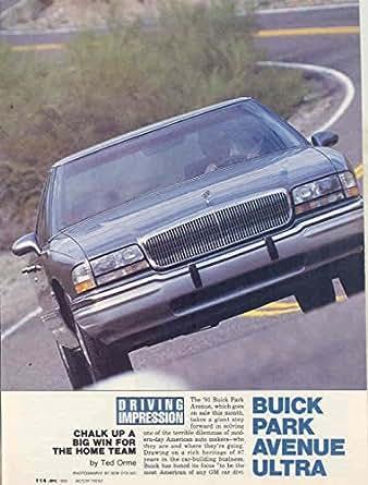1990 buick park avenue ultra brochure. Black Bedroom Furniture Sets. Home Design Ideas