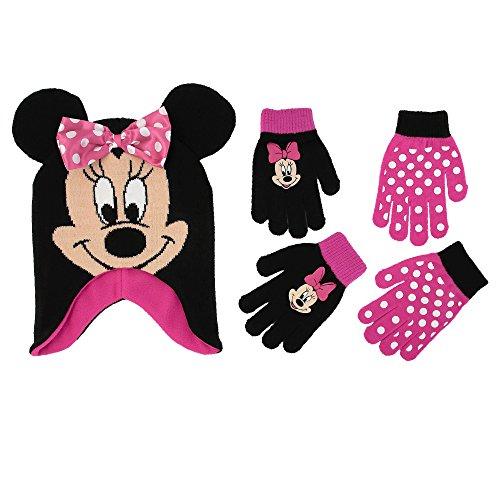 Disney Little Girls Minnie Mouse Polka Dot Hat