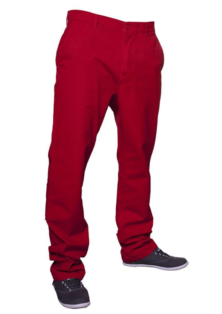 Urban Classics TB264 Chino Pants Man Regular Fit Red 33